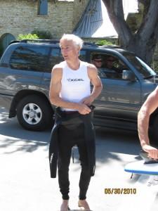 Chris Portman the surfing dude
